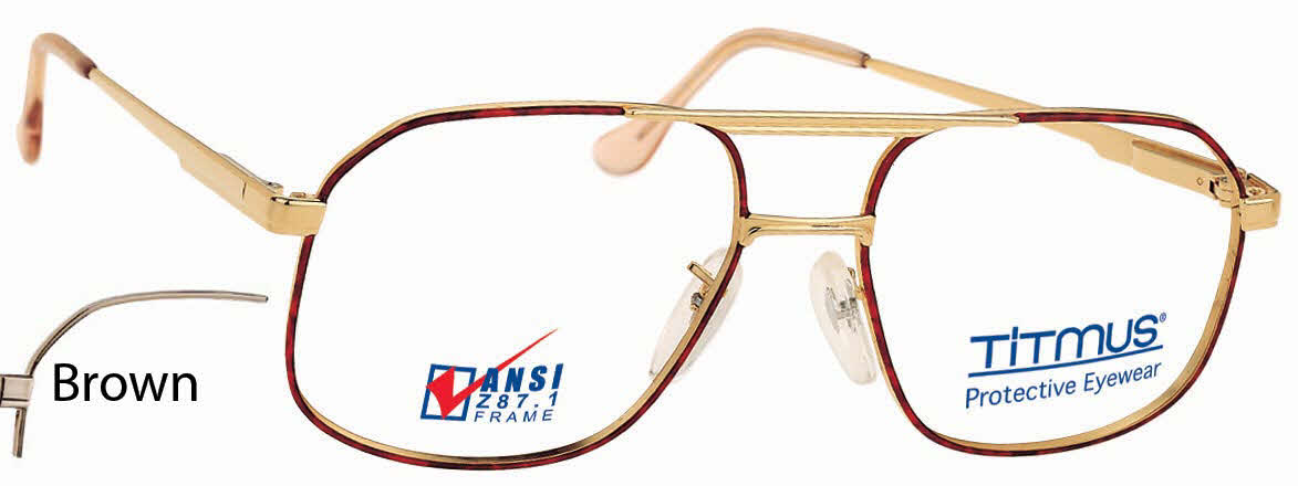 Titmus PC 250A with Side Shields -Premier Collection Eyeglasses