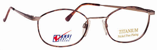 Titmus EXT 5 with Side Shields Titanium Collection Eyeglasses