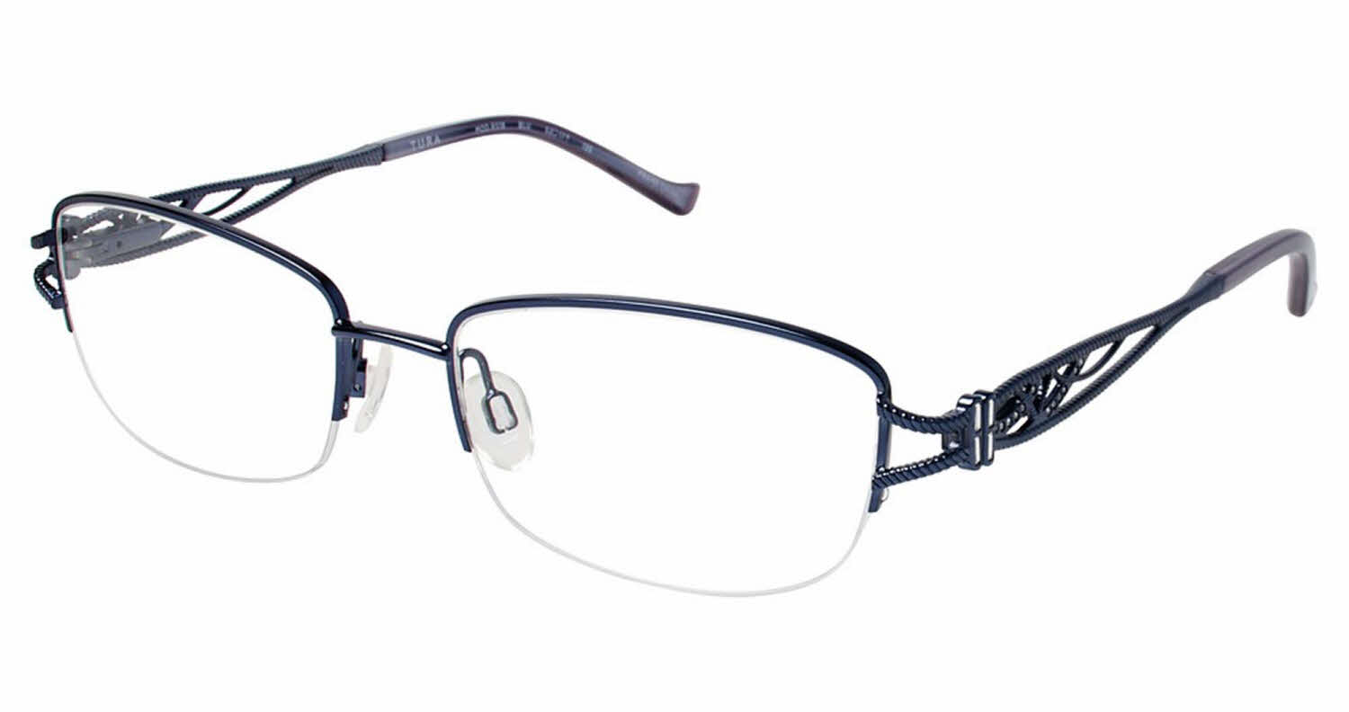 Frameless Vintage Glasses : Tura Rimless Eyeglasses Louisiana Bucket Brigade