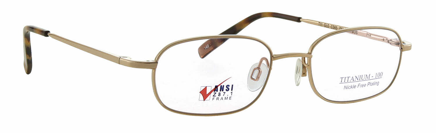 Titmus EXT 11 with Side Shields -Titanium Collection Eyeglasses
