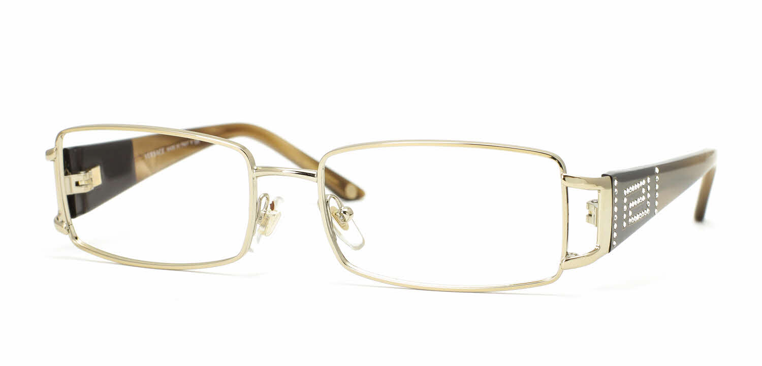 Clear Frame Versace Glasses : Versace VE1163B Eyeglasses Free Shipping
