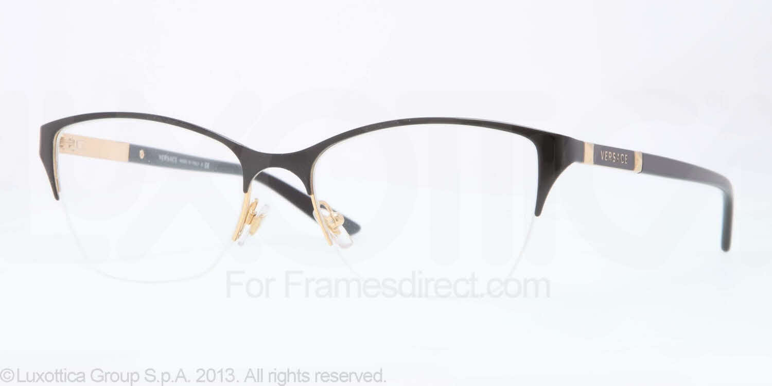 Eyeglass Frames By Versace : Versace VE1218 Eyeglasses Free Shipping