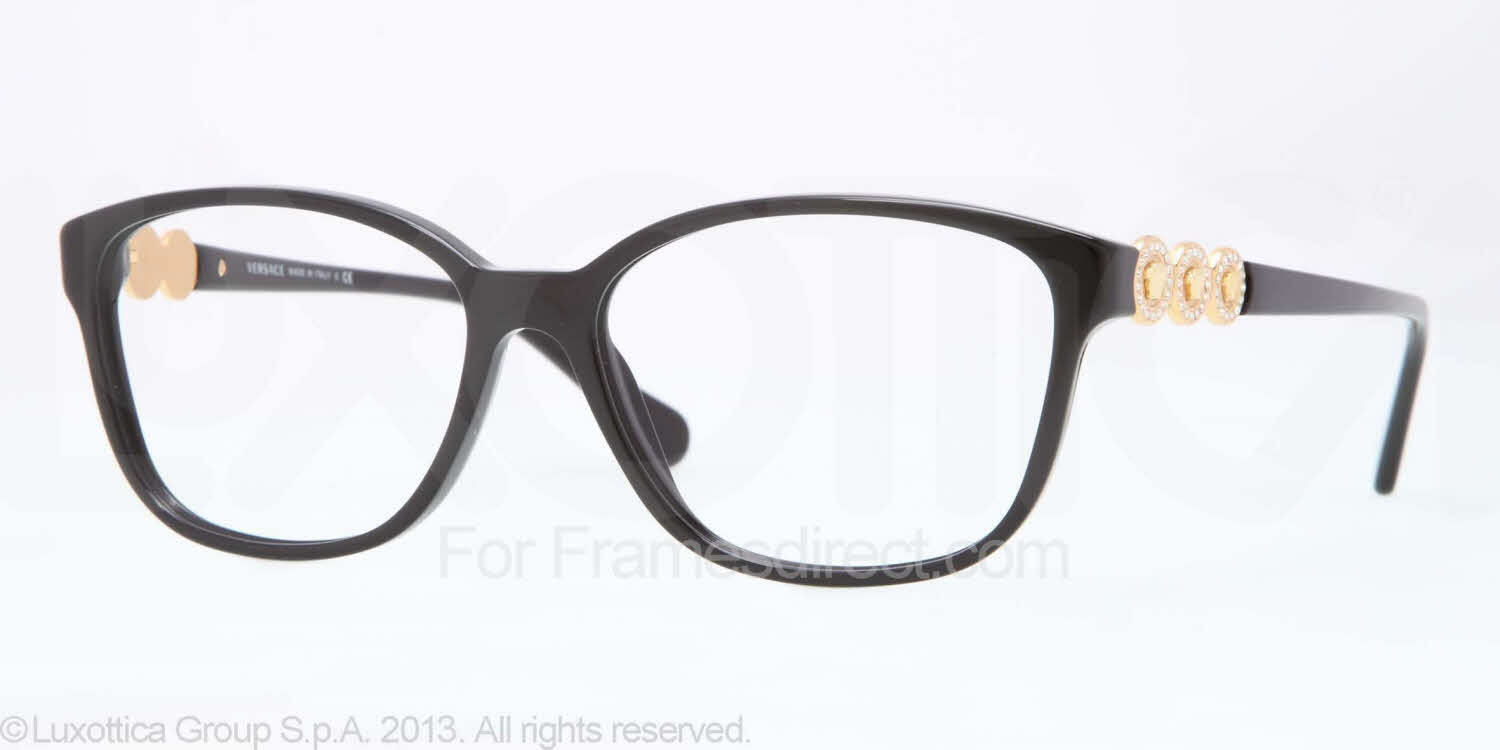 Eyeglass Frames By Versace : Versace VE3181B Eyeglasses Free Shipping