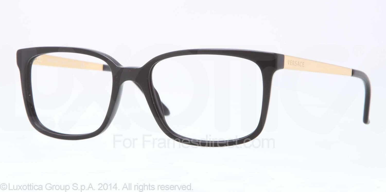 Glasses Frames Versace : Versace VE3182 Eyeglasses Free Shipping