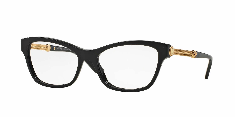 versace ve3214a alternate fit eyeglasses free shipping