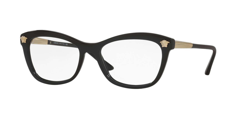 versace ve3224a alternate fit eyeglasses free shipping