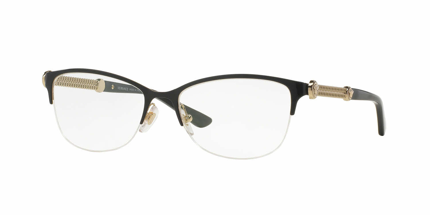 Eyeglass Frames And Lenses : Versace VE1228 Eyeglasses Free Shipping