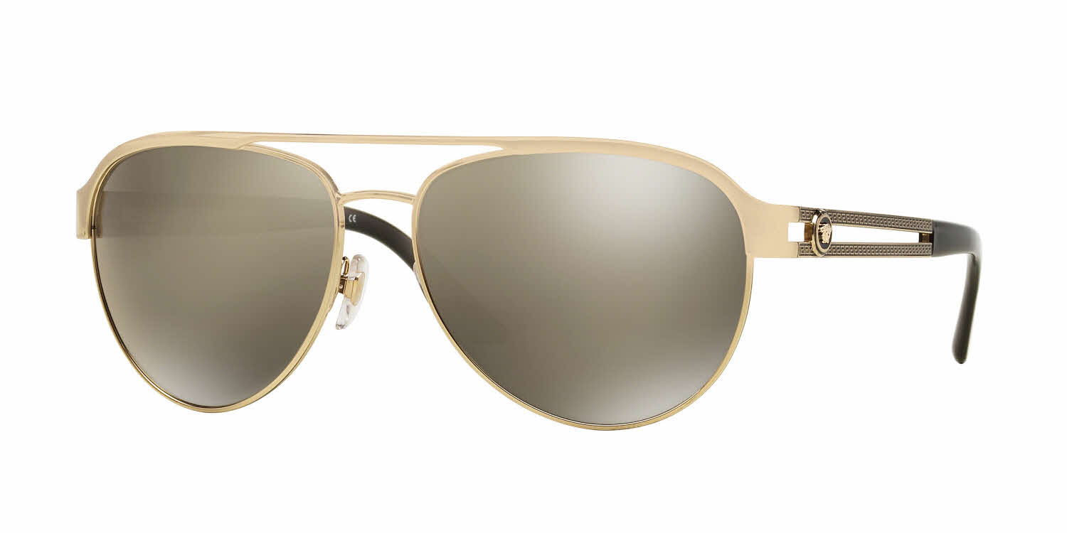 Versace Polarized Sunglasses Womens  versace ve2165 sunglasses women s aviator free shipping