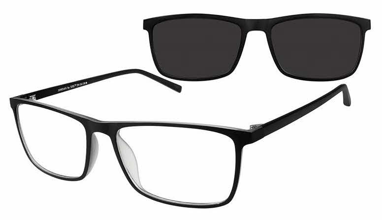XXL Jordan w/ Clip on Eyeglasses | Free Shipping