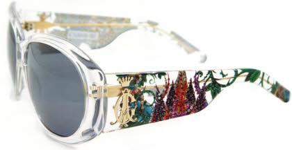 Christian Audigier Sunglasses CAS 410 Broken Heart