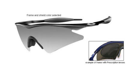 Oakley M Frame Sweep Prescription Sunglasses