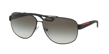 Prada Linea Rossa Sunglasses PS 58QS - LJ Silver