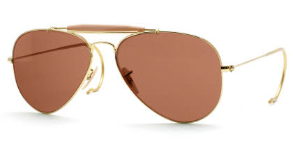 Ray-Ban RB3030 Outdoorsman Aviator with Cable Temples Prescription Sunglasses