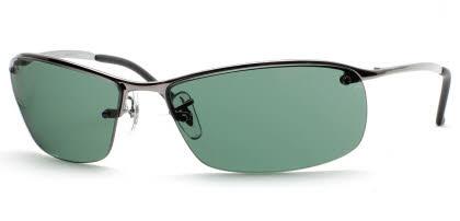 Ray-Ban RB3183 - Top Bar Square Sunglasses