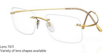 Silhouette Rimless 7799 Titan Minimal Art The Must Collection Eyeglasses
